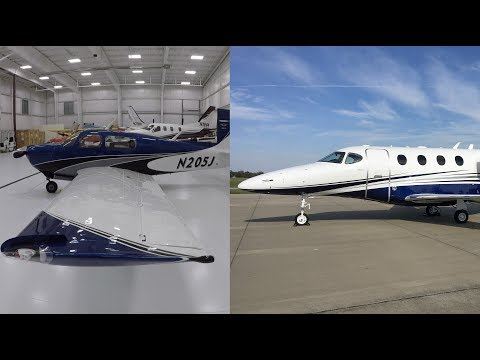 Paint Shop Pick Up Flight + New Mooney