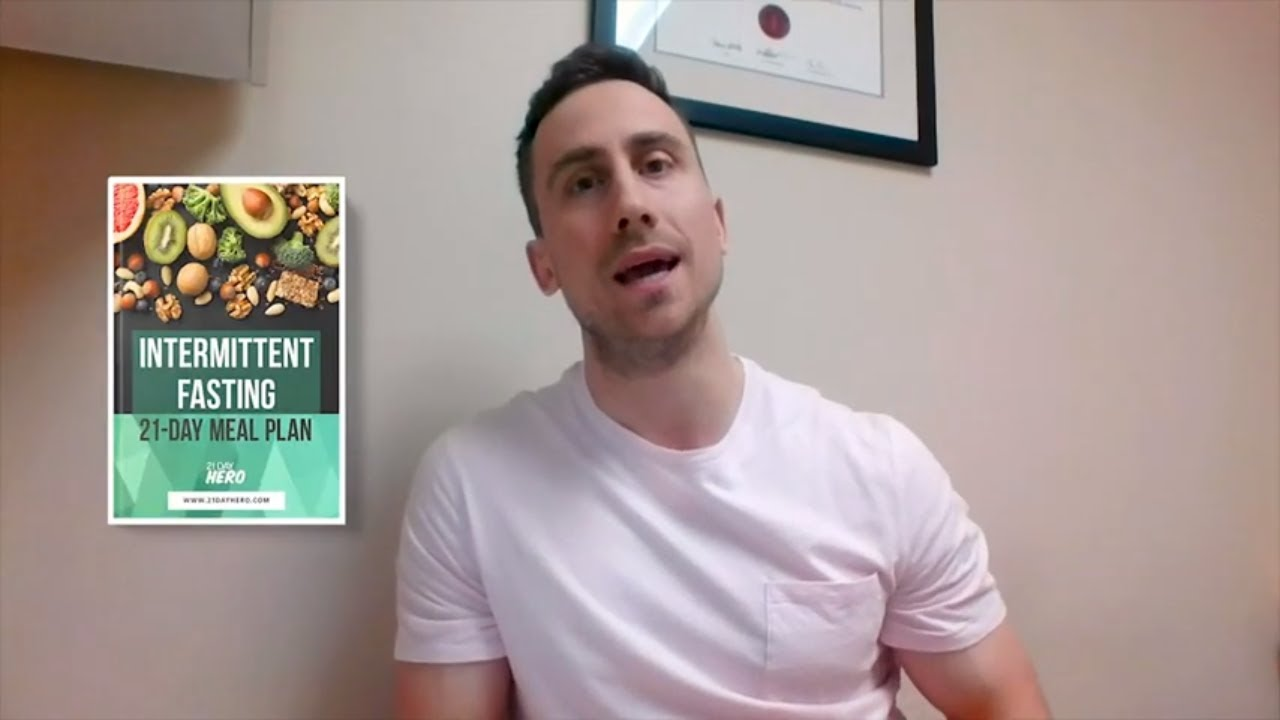 16/8 Intermittent Fasting Meal Plan 21 Days by Andy De Santis