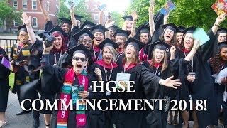 HGSE Commencement 2018!