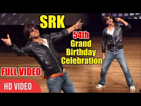 UNCUT - Shahrukh khan 54th Grand Birthday Celebration With Fans   Full Coverage Mp3