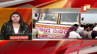 Balasore | Locals Block NH-60 Demanding Repair Of Road
