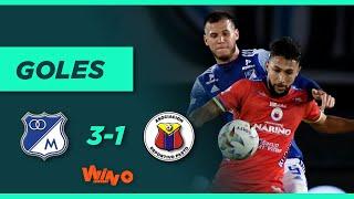 Millonarios vs. Pasto (3-1) Liga BetPlay Dimayor 2021 1 - Fecha 7