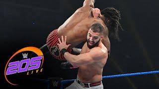 """Isaiah """"Swerve"""" Scott vs. Ariya Daivari: WWE 205 Live, Oct. 25, 2019"""