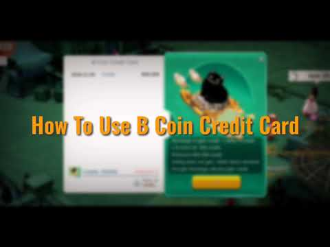 How To Use B Coin Credit Card & Why It's Awesome!