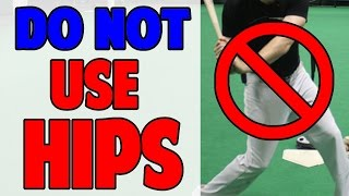 don t use your hips   baseball hitting drill pro speed baseball