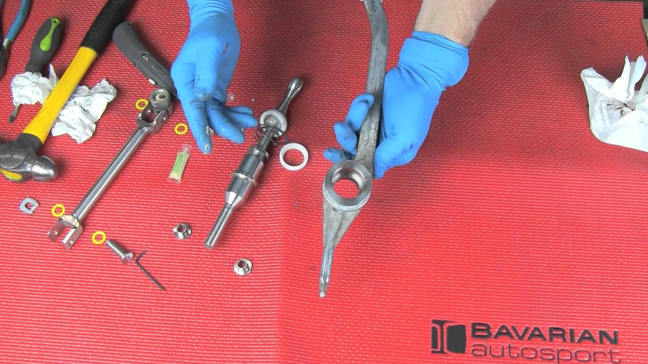 Part 2 Installing A Short Shift Kit On A Bmw Youtube