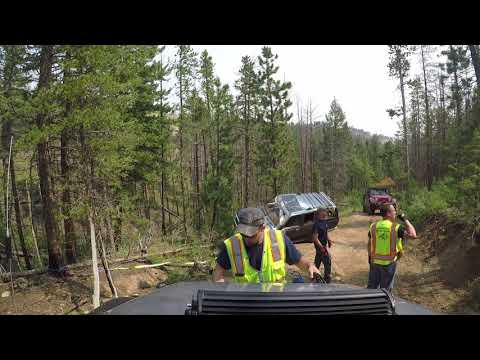 Colorado 4x4 Rescue and Recovery - Old Flowers Road Rollover