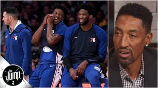 The 76ers are 'constructed well enough to make it to the NBA Finals' – Scottie Pippen | The Jump