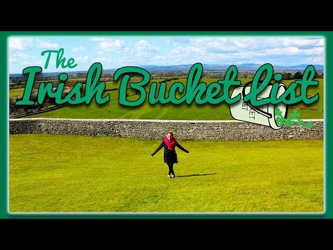 Episode one of her Irish Bucket List series of things to do in Ireland. On YouTube.