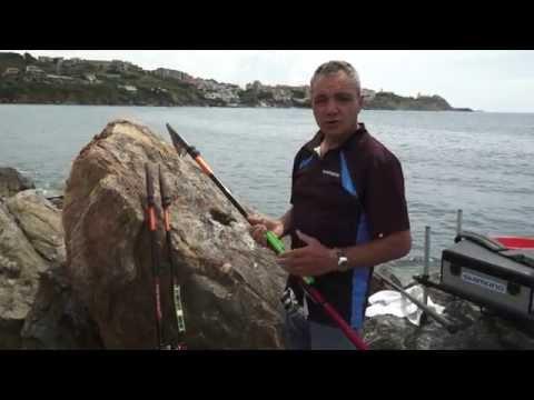 Pesca con la bolognese da riva con Marco Meloni e canna Shimano Fireblood TE4 (short version)