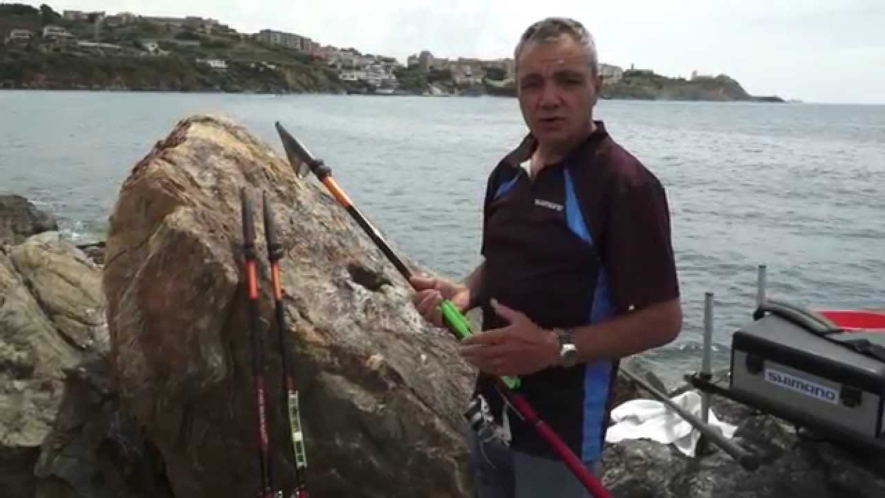 Pesca con la bolognese da riva con Marco Meloni e canna Shimano Fireblood  TE4 (short version) 9f894aec40cb