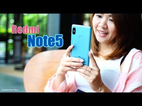 [ รีวิว Xiaomi Redmi Note5 ] ถ้า 6,990 บาท จะจัดเต็มขนาดนี้ ซื้อเถอะ!!! - วันที่ 21 May 2018