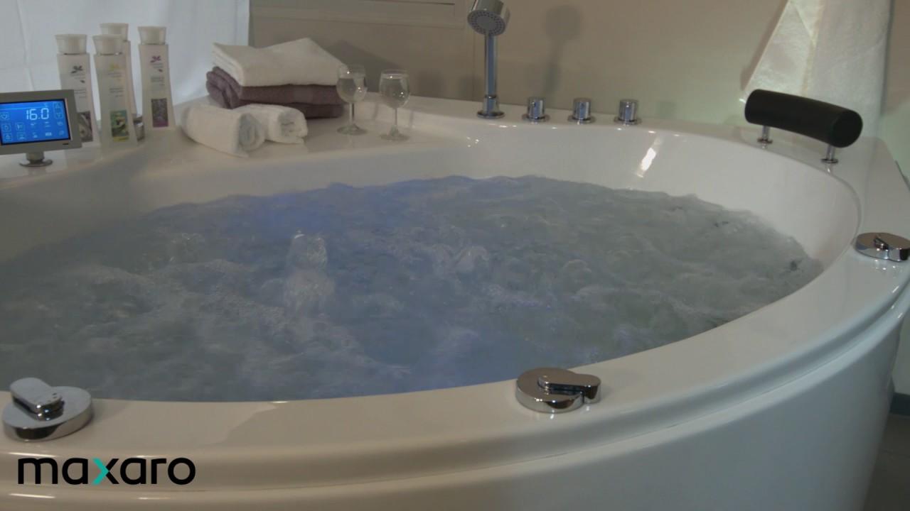 Whirlpool Bad Ervaringen : Bubbelbad whirlpool bad maxaro youtube