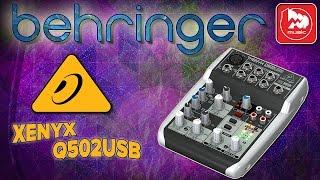 Микшерный пульт BEHRINGER XENYX Q502USB(Сверхкомпактный микшерный пульт BEHRINGER XENYX Q502USB http://bit.ly/BehringerQ502 – это вариант для стриминга, записи подкастов..., 2016-08-26T06:02:10.000Z)