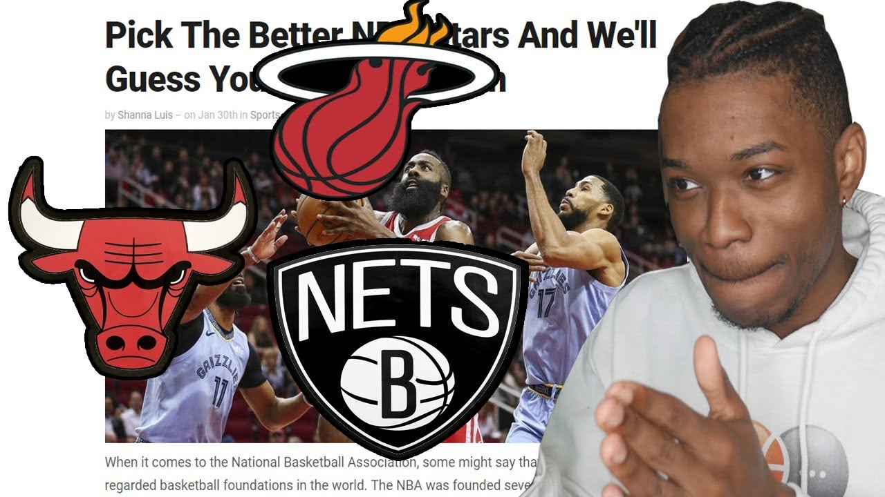 Tochi träd obligation Motsatt  this nba quiz claims it can guess your favorite team... - YouTube