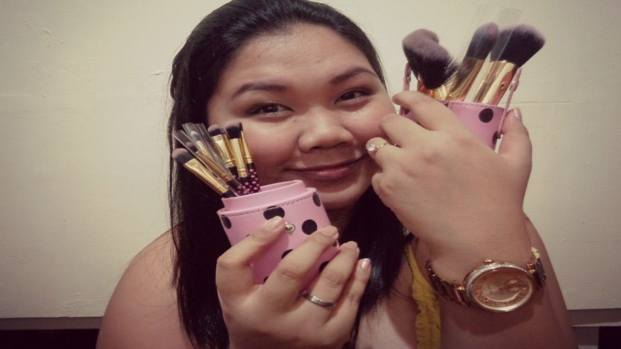 8e04bb3d8aeb Review  Bh Cosmetics Pink-A-Dot Brush Set
