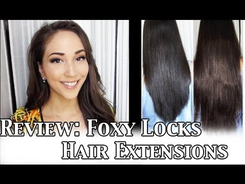 Review foxy locks hair extensions 160g in dark brown youtube pmusecretfo Images