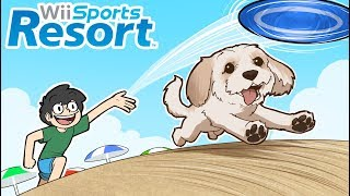 Wii Sports Resort except its with my dog