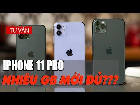 iPhone 11 Pro thì nên mua bao nhiêu GB ?| Minh Tuấn Mobile
