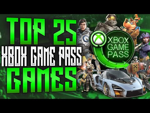 Top 25 Xbox Game Pass Games   2020 (UPDATED)