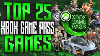 Top 25 Xbox Game Pass Games | 2020  Updated