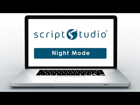 Ease Eye Strain With Script Studio's Night Mode Feature