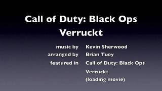 Call of Duty: Black Ops - Verruckt loading screen nazi zombies Kevin Sherwood
