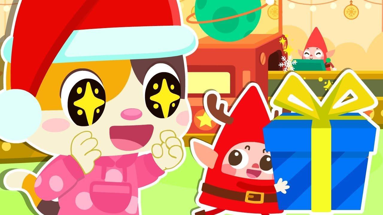 🎅聖誕老公公和小精靈送聖誕禮物 | 最新聖誕節兒歌 | 安全教育童謠 | 消防車動畫 | 怪獸車卡通 | 寶寶巴士 | 奇奇 | 妙妙 | BabyBus