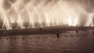 Dubai fountain dance, Burj khalifa  - Hd Aug 2016