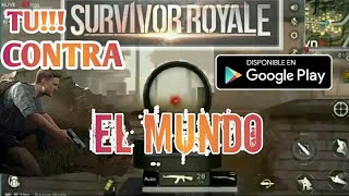 SURVIVOR ROYALE - una versión para móvil de Battle Royale  -SICA GAMER