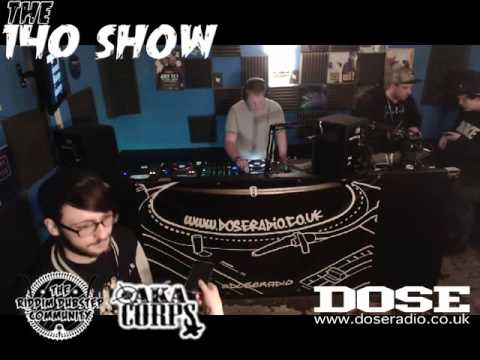 THE 140 SHOW PRESENTS THE  UNKNOWN 23rd APR 2016 - DOSE RADIO