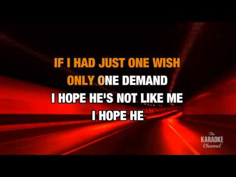 With Arms Wide Open in the style of Creed | Karaoke with Lyrics