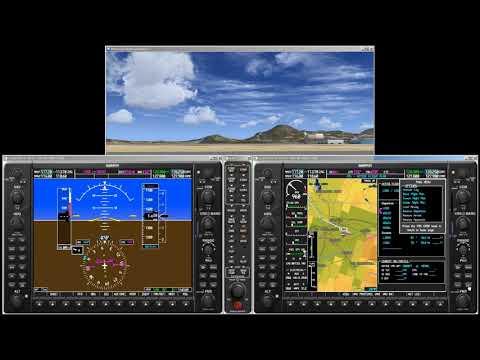 Garmin G1000 Student Simulator - Part 1