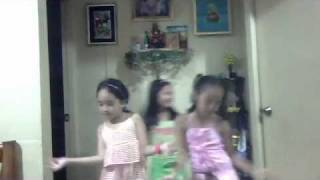 3 Young Filipino Girls Dancing Waka Waka By Shakira