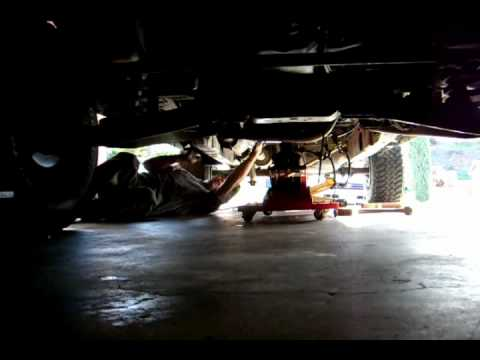 Dodge 46re Transmission Removal Youtube