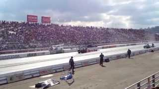 2015 NHRA Finals Doug Kalitta vs Tony Schumacher