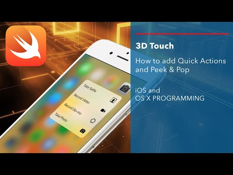 iOS Swift Tutorial: Add 3D Touch to your apps