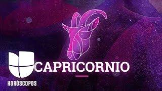 Capricornio - Semana del 25 de noviembre al 1 de diciembre | Univision Horóscopos