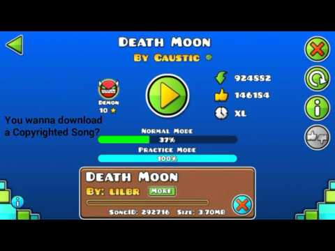Geometry Dash how to get a Copyrighted Song [Patched]