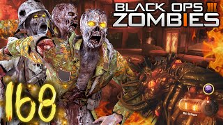 Black Ops 3 Zombies | Round 168 WORLD RECORD! / BEST High-Round Strategy
