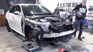 Final M5 Repairs and Service before Bodywork