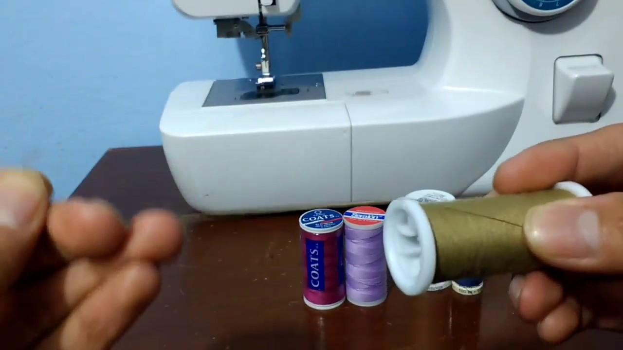 ¿Por qué se rompe el hilo? Máquinas familiares - YouTube
