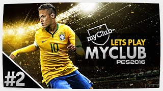 PES 2016 - myClub #2 COM CHALLENGE CUP!