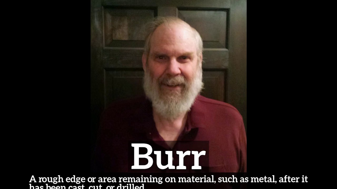 What is Burr? | How to Say Burr in English? | How Does Burr Look?