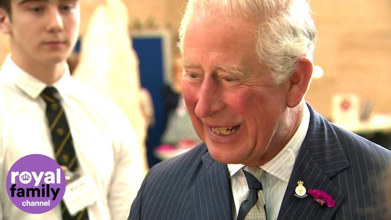 Prince Charles, Ever The Soldier At British Public Events, Tests ...