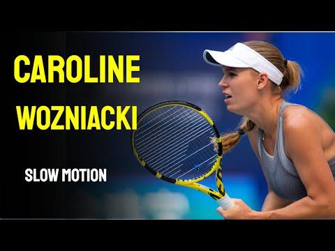 Caroline Wozniacki  Slow Motion - Cincinnati Masters 2014