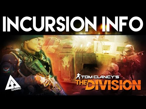 The Division Incursion Details, Gear Sets, New High End Weapons & More | April 1.1 Update