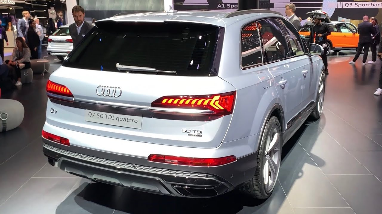 Audi Q7 Facelift 2020 First Look Review What S New S Line 50 Tdi Youtube