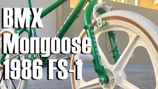 Restoring my 1986 Mongoose FS1 - Refinishing the Head badge - Here's how I did it