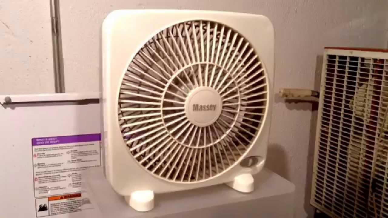Massey Box Fan : Massey quot box fan model mbf before youtube